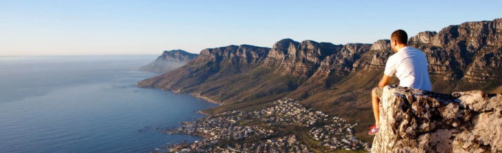 Lions Head over Cape Town