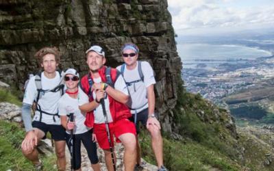 Hike up Platteklip Gorge, Table Mountain
